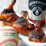 Beer Basted BBQ Chicken (Red Legs)