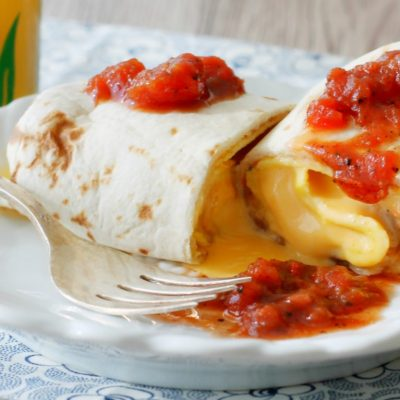The Ultimate Freezer Breakfast Burritos