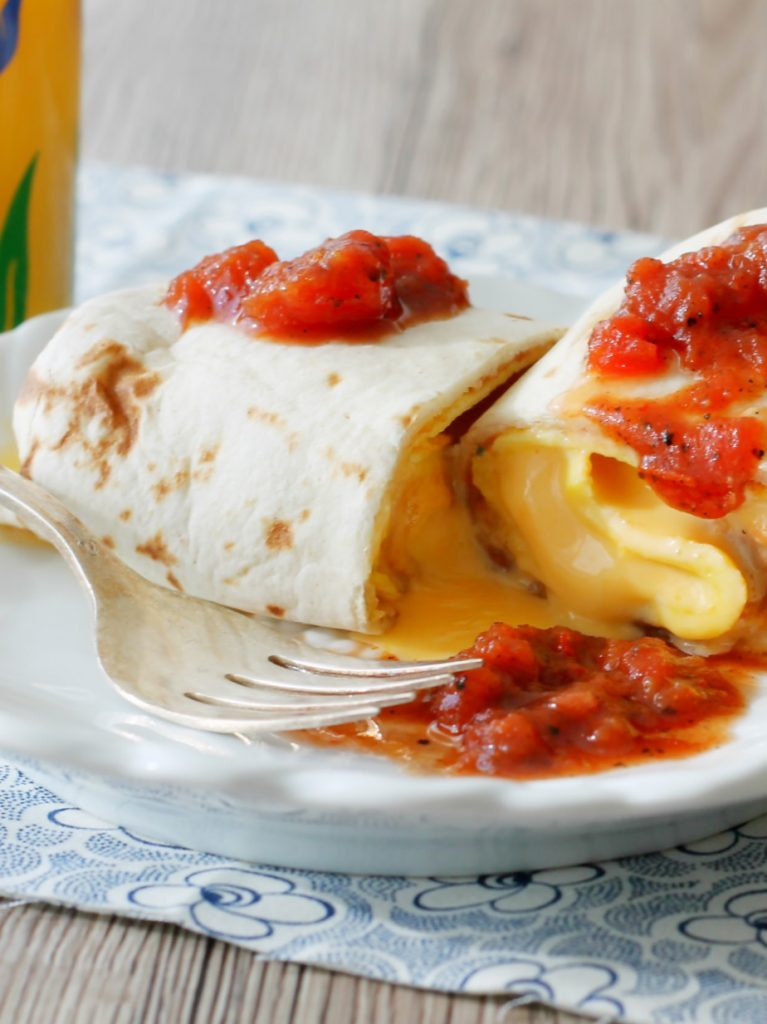 The Ultimate Breakfast Burritos by Foodtastic Mom
