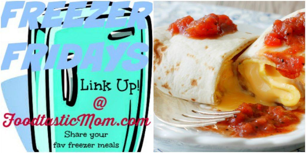 The Ultimate Freezer Breakfast Burritos by Foodtastic Mom #freezerfridays