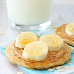 Oatmeal Pancakes for the Freezer by Foodtastic Mom #freezerfridays