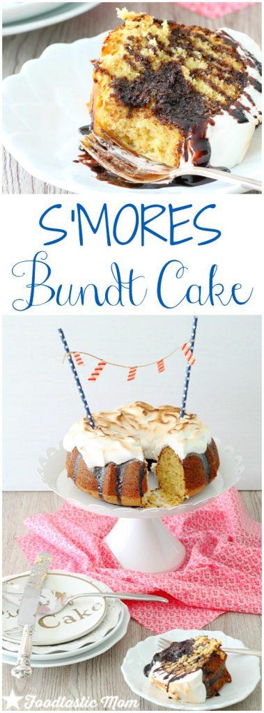 S'mores Bundt Cake by Foodtastic Mom