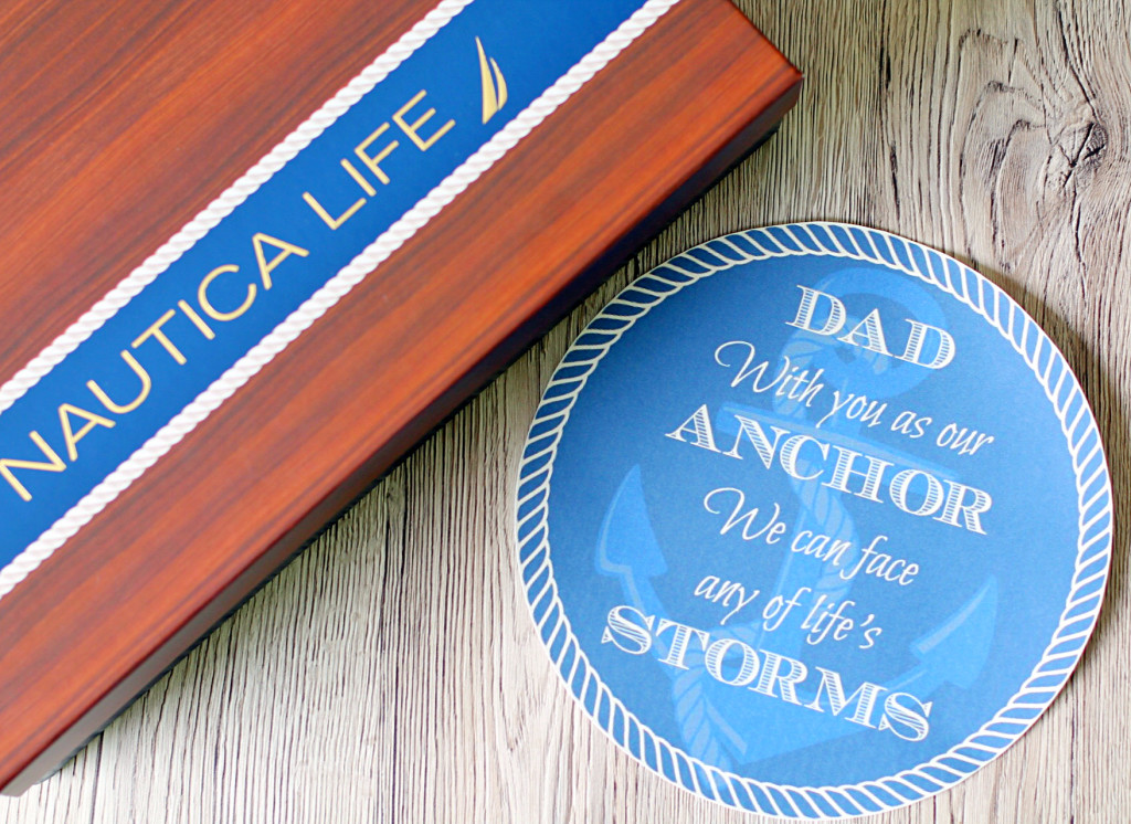 Father's Day Gift with Printable #NauticaforDad