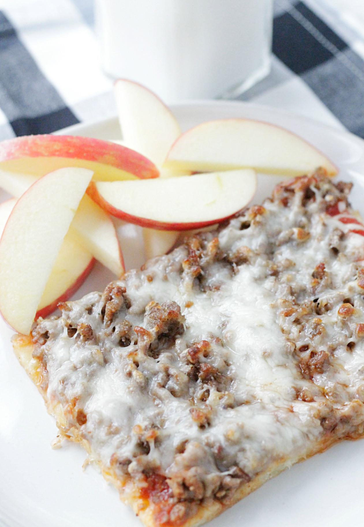 Copycat Lunch Lady Pizza - Foodtastic Mom
