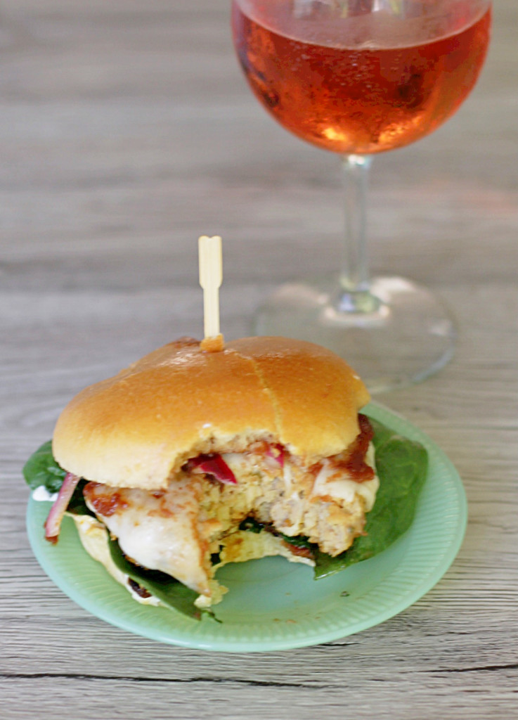 Pork Apple Burgers by Foodtastic Mom