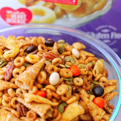 Pumpkin Spice Cheerios™ Snack Mix by Foodtastic Mom