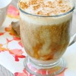 Pumpkin Pie Iced Coffee by Foodtastic Mom #donthesitaste