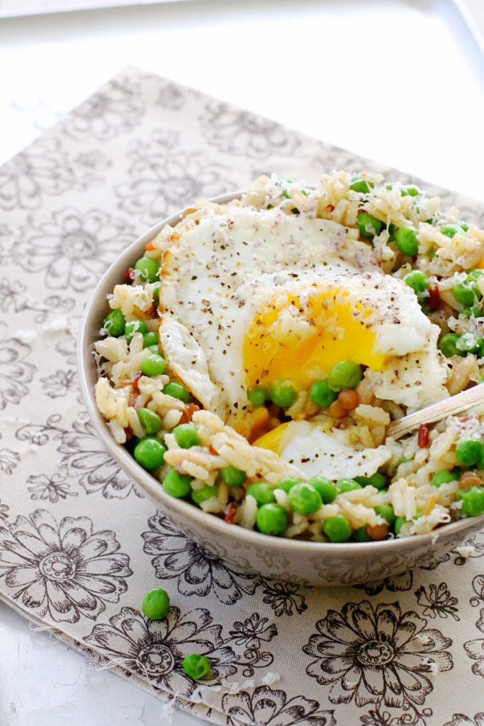 Easy Egg and Rice Bowl with Uncle Ben's® by Foodtastic Mom