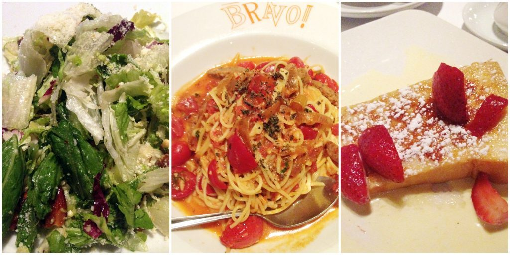 BRAVO! Restaurant Review by Foodtastic Mom