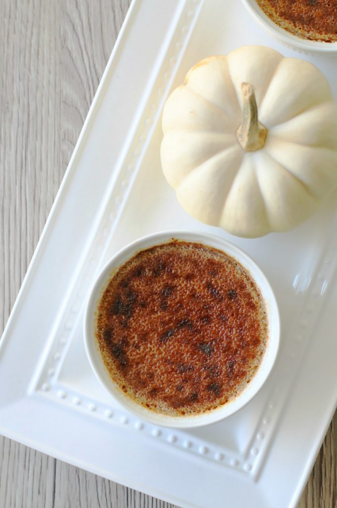 Pumpkin Creme Brûlée by Foodtastic Mom