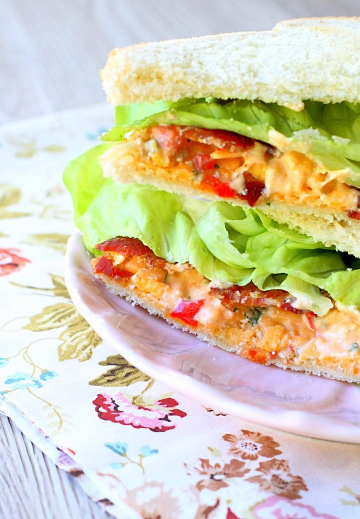 Bacon Lettuce and Pimento Cheese Sandwich by Foodtastic Mom