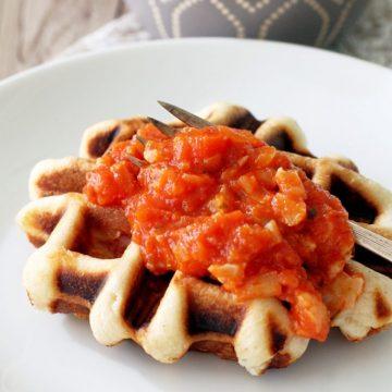 Savory Waffled Stromboli by Foodtastic Mom