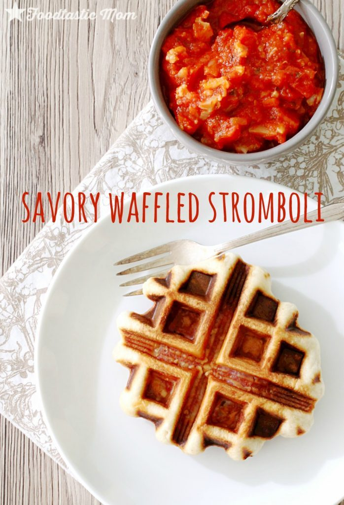 Savory Waffled Stromboli by Foodtastic Mom