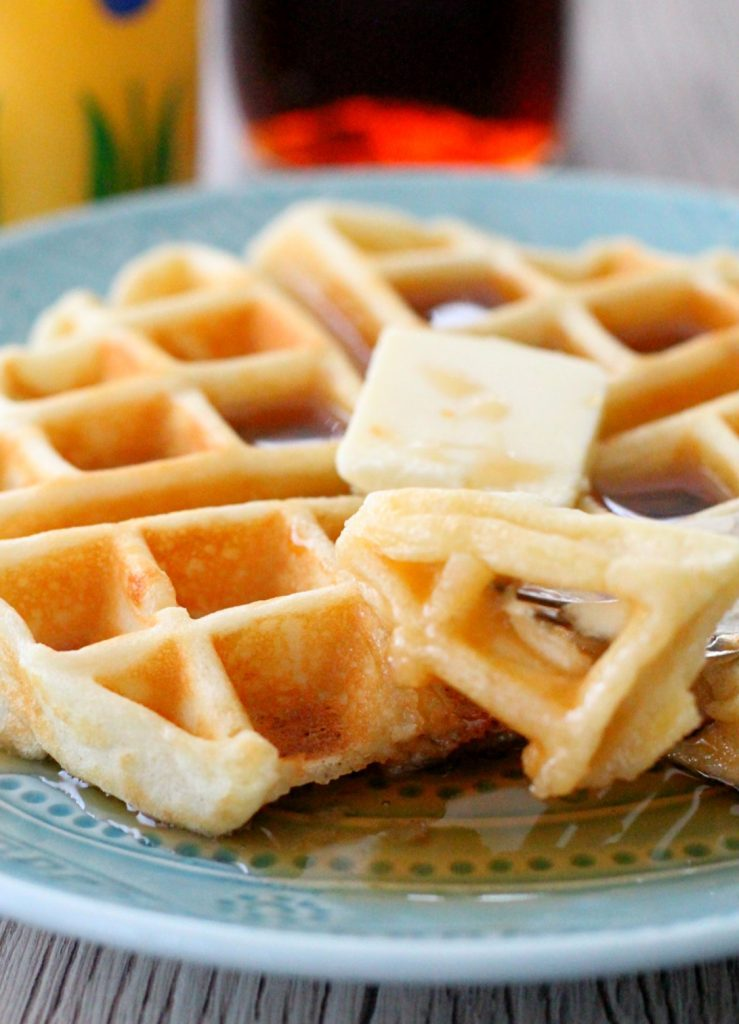 The Best Waffles by Foodtastic Mom