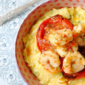 Italian-Style Shrimp and Grits with SeaPak by Foodtastic Mom #MoreCoastal