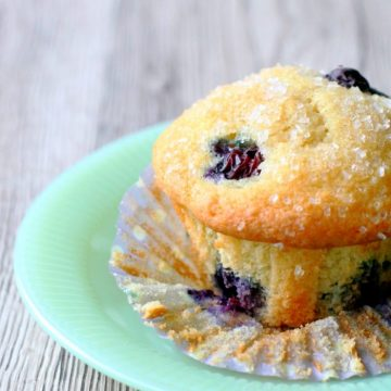 The Best Blueberry Muffins by Foodtastic Mom