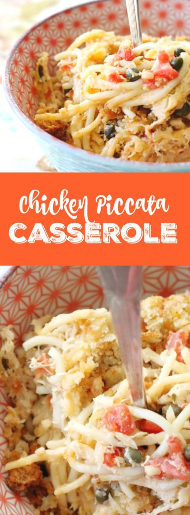 Chicken Piccata Casserole