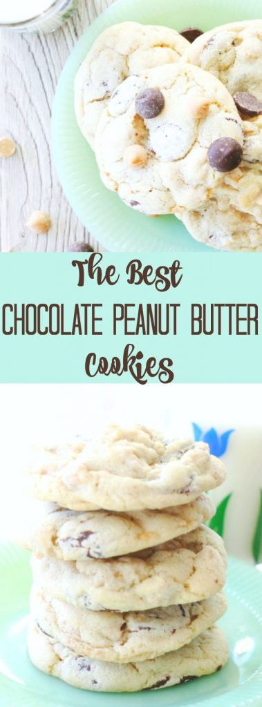 The Best Chocolate and Peanut Butter Chip Cookies