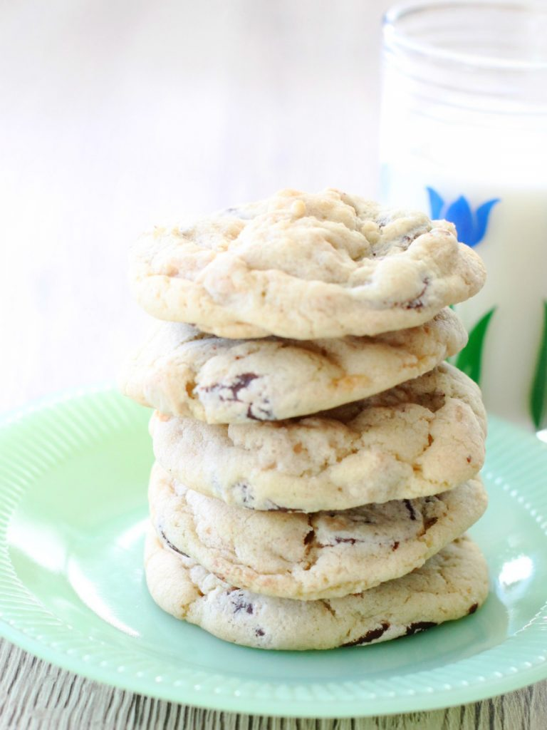 Chocolate And Peanut Butter Chip Cookies Foodtastic Mom