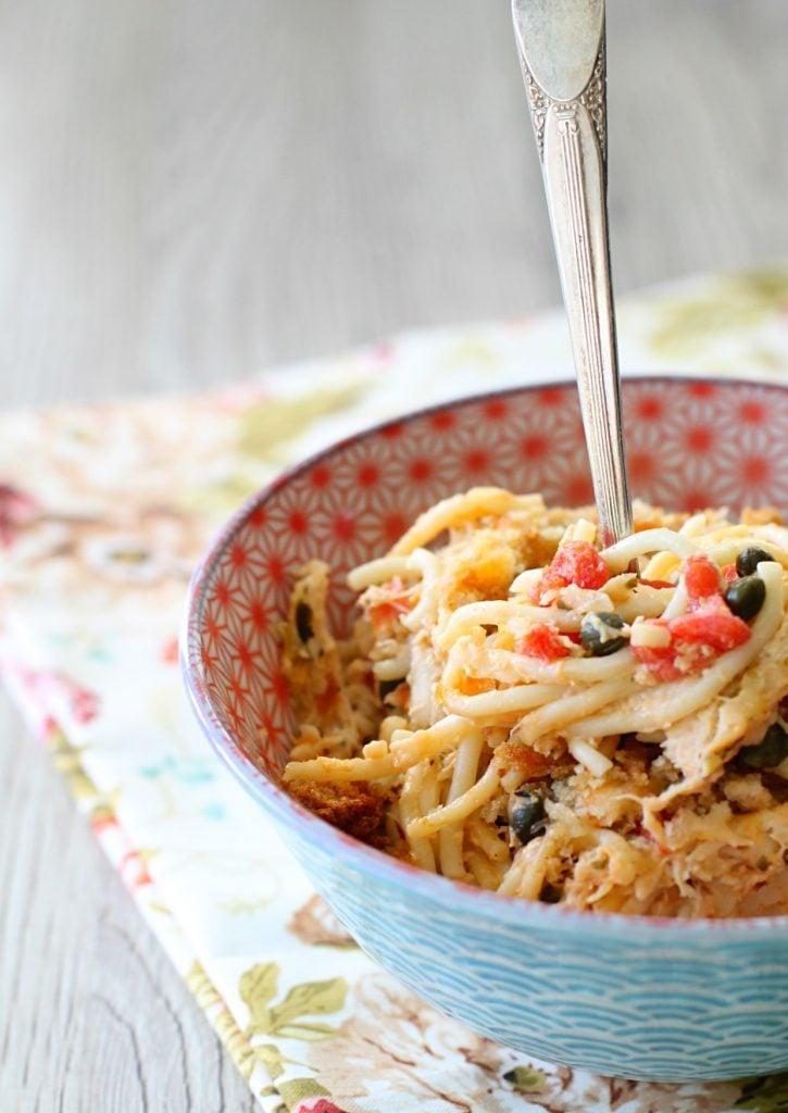 Chicken Piccata Casserole by Foodtastic Mom