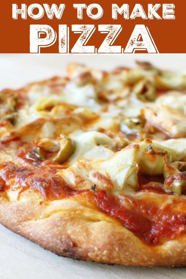Pizza Crust Recipe Plus Hints For Making The Best Pizza Foodtastic Mom