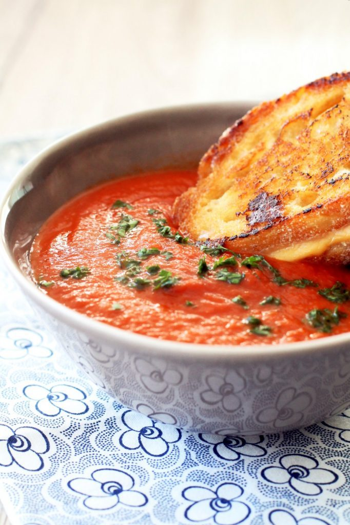 The Best Tomato Soup by Foodtastic Mom