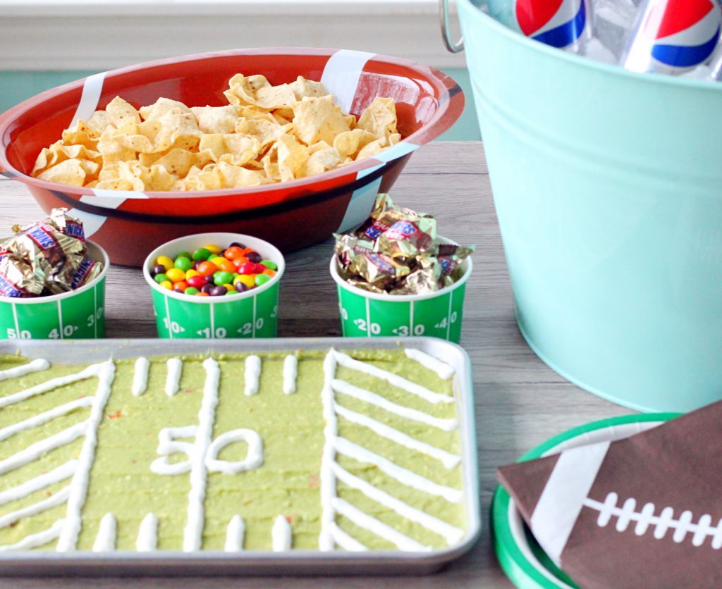 Y Football Party by Foodtastic Mom #GameDayGlory