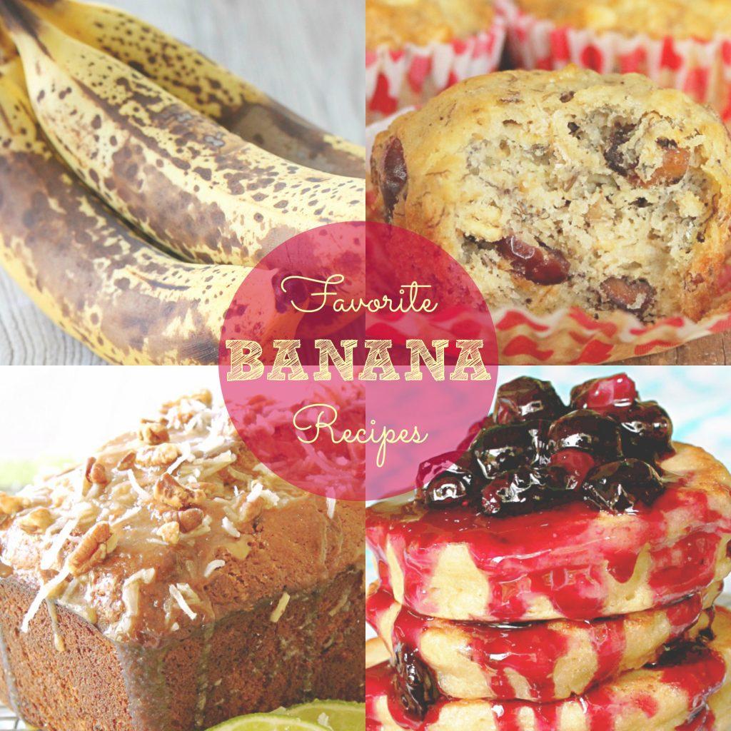 Favorite Banana Recipes by Foodtastic Mom