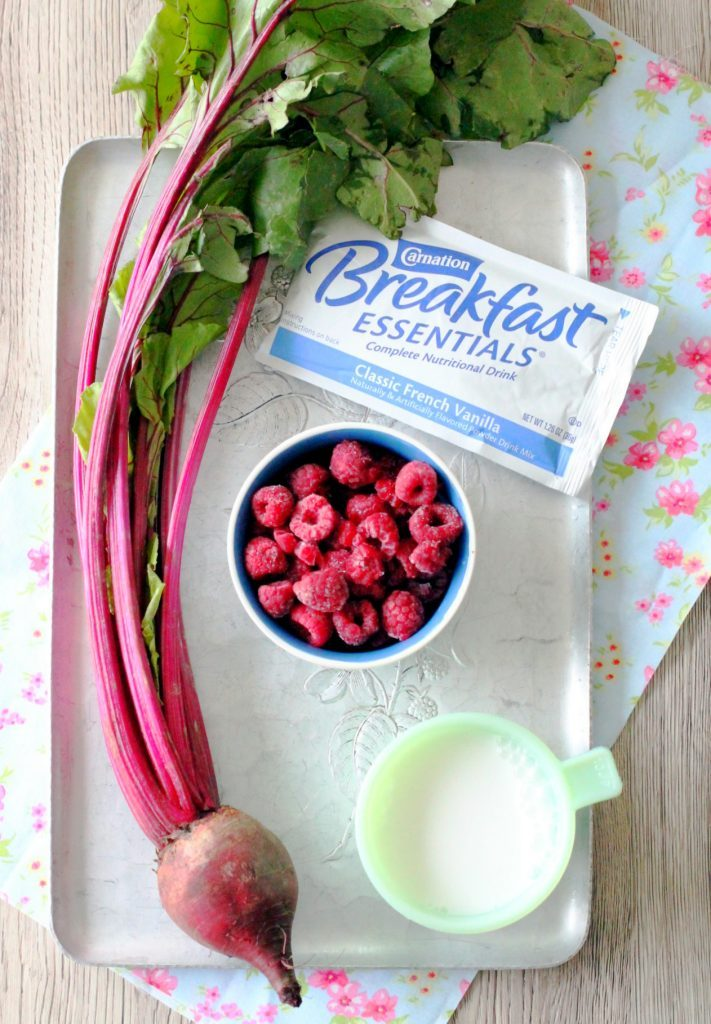 Sweetheart Smoothie by Foodtastic Mom #CarnationSweepstakes #BetterBreakfast