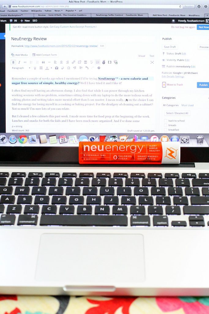 NeuEnergy Review by Foodtastic Mom #GetNeuEnergy