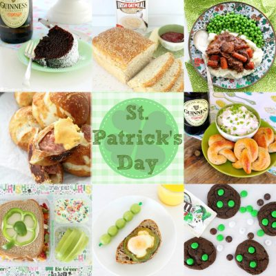 St. Patrick's Day Recipe Round Up by Foodtastic Mom #stpatricksday