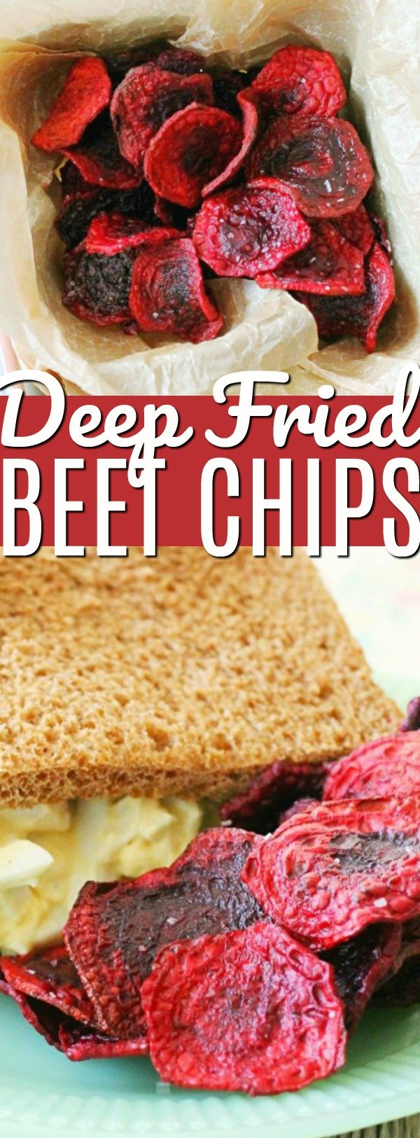 Fried Beet Chips | Foodtastic Mom