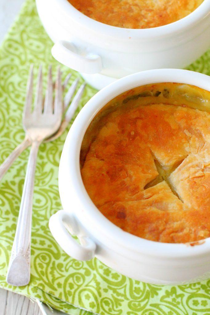 Spring Chicken Pot Pie by Foodtastic Mom