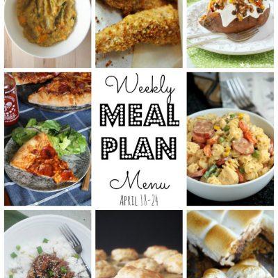 Weekly Meal Plan (April 18-24)