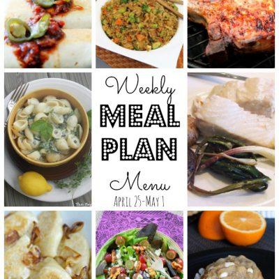Weekly Meal Plan (April 24 – May 1)