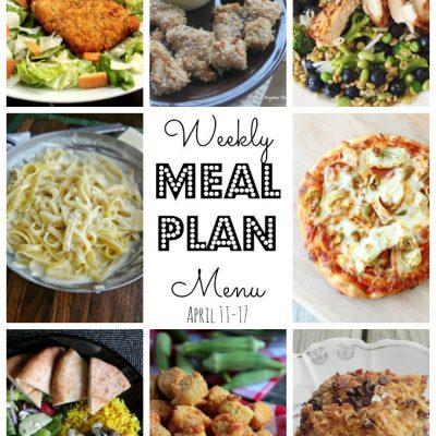 Weekly Meal Plan (April 11 – April 17)