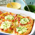 Eggs Benedict Breakfast Bake by Foodtastic Mom
