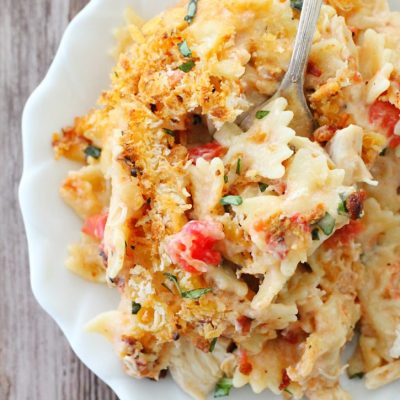 Kentucky Hot Brown Mac and Cheese