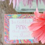 Tickled Pink Mother's Day Free Printable