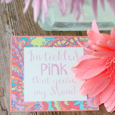 Tickled Pink Mother's Day Gift