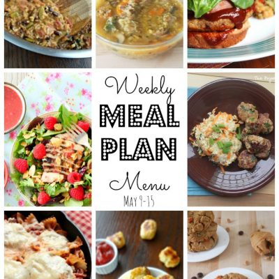 Weekly Meal Plan (May 9 – 15)
