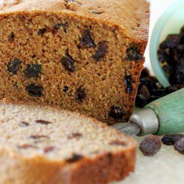Cinnamon Raisin Quick Bread by Foodtastic Mom