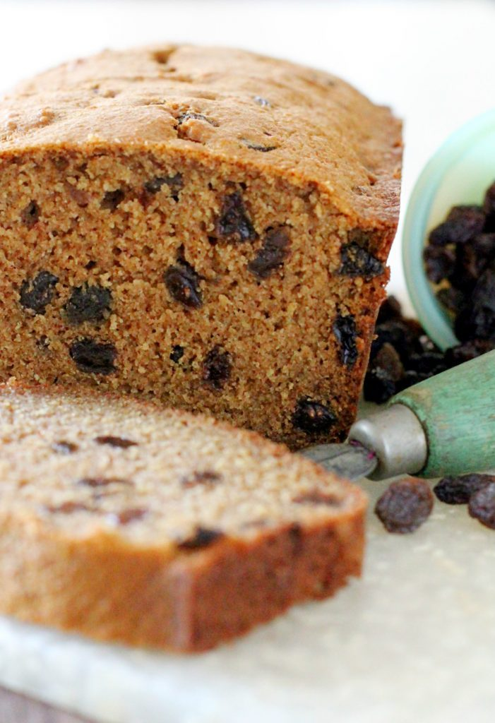 Cinnamon Raisin Quick Bread by Foodtastic Mom