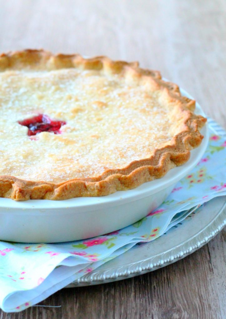 Sweet Cherry Pie by Foodtastic Mom #ShoutSolutions