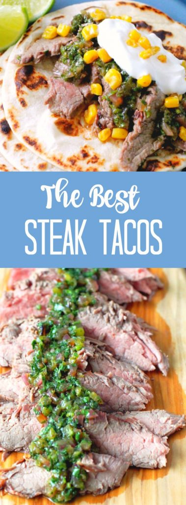 The Best Steak Tacos