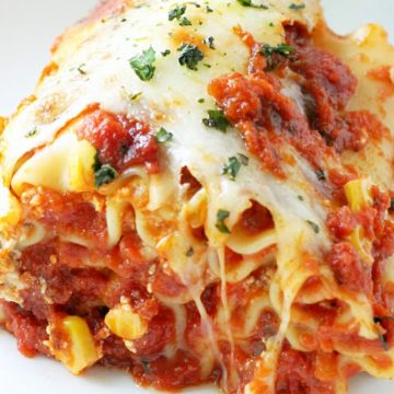 Rainbow Lasagna Rolls by Foodtastic Mom
