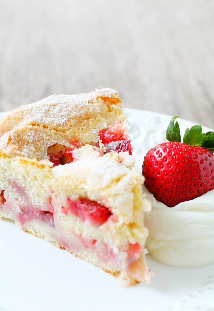 Make Strawberry Shortcake Cake
