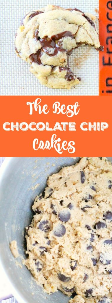 The Best Chocolate Chip Cookies - Foodtastic Mom
