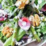 Fresh Cherry and Asparagus Salad