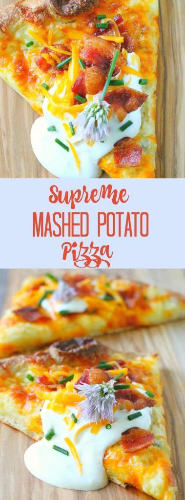 Supreme Mashed Potato Pizza